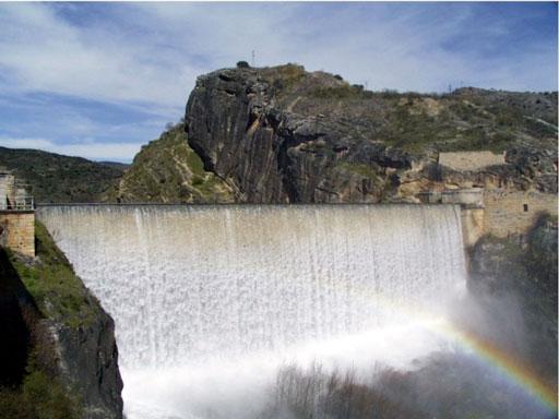 La primera presa de agua de Madrid